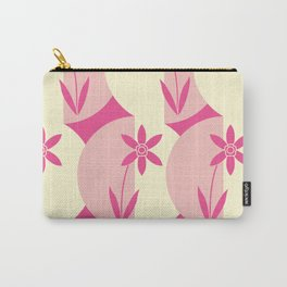 Fuschia Flowers Carry-All Pouch
