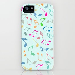 Music Colorful Notes iPhone Case