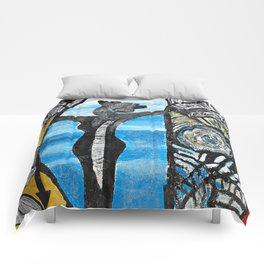 Seaside Beauty Queen Comforters