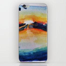 Saving Sunset iPhone Skin