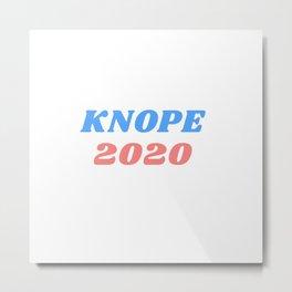 knope 2020 Metal Print