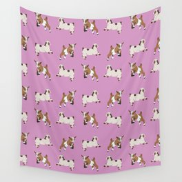 Baesic Prancing Goats Wall Tapestry