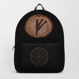 Fehu Elder Futhark rune Possessions, earned income, luck. Abundance, financial strength, hope Backpack