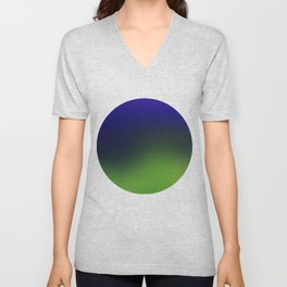 Sky, Mountains and Valley Unisex V-Neck