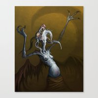 baphomet Canvas Prints featuring Baphomet by Ejay Basford