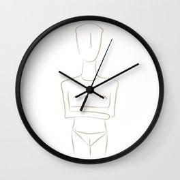 cycladic #1 Wall Clock