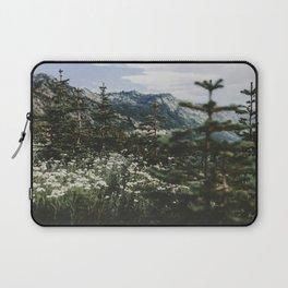 Mount Rainier Summer Wildflowers Laptop Sleeve
