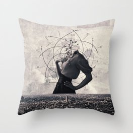 Sequence Throw Pillow