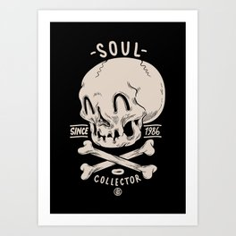 Soul Collector Art Print
