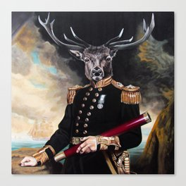 Yes My Deer Canvas Print