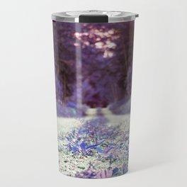 Walking through Purple Travel Mug