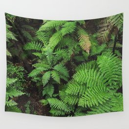 New Zealand ferns Wall Tapestry