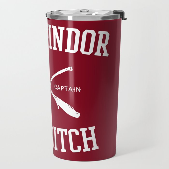 Hogwarts Quidditch Team: Gryffindor Travel Mug