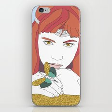 GRIMES GOLD iPhone & iPod Skin