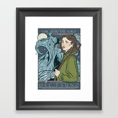 El Laberinto del Fauno (Pan's Labyrinth)  Framed Art Print