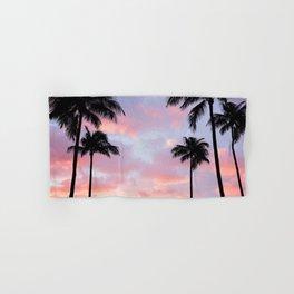Palm Trees and Sunset Hand & Bath Towel