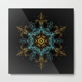 Origins Mandala Metal Print
