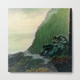 Mists In The Pitons: St. Lucia Metal Print