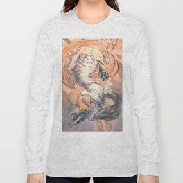 Hanami cat Long Sleeve T-shirt