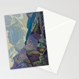 Goat Range Rocky Mountains, 1932, McMichael Canadian J.E.H. Macdonald Stationery Cards