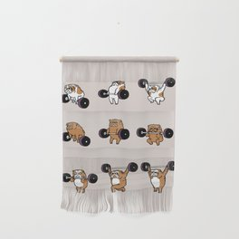 OLYMPIC LIFTING English Bulldog Wall Hanging