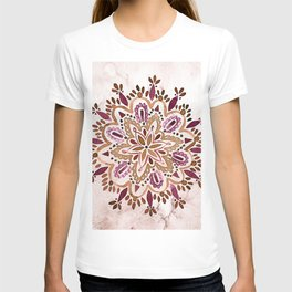 Burgundy Mandala T-shirt
