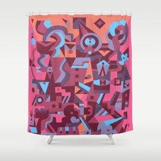 Schema 12 Shower Curtain