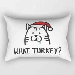 What turkey? Rectangular Pillow
