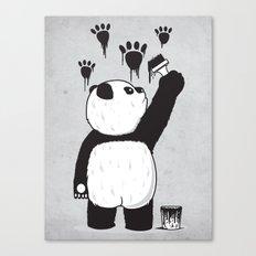 Pandalism Canvas Print