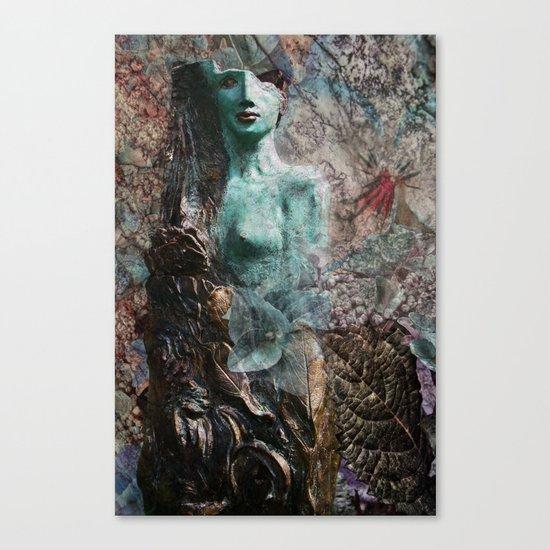 broken identity Canvas Print