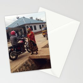 #277 The woman and the driver / Streets of Tanzania Stationery Cards