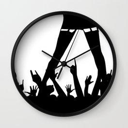Entertainer Wall Clock