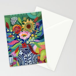 Late Summer Blooms Stationery Cards