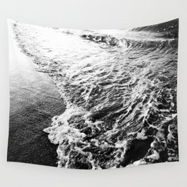 Wave and sand Wall Tapestry