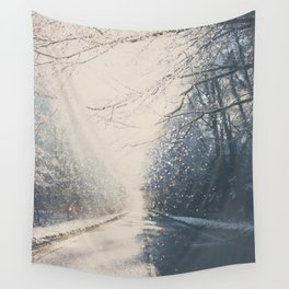 driving home for Christmas ... Wall Tapestry