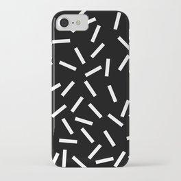 Sprinkles Black iPhone Case