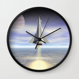 Rocket Launch Wall Clock