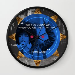 Lauryn Hill tribute  Wall Clock