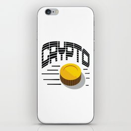 CRYPTO COIN iPhone Skin