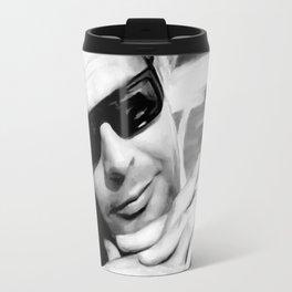 Marcello Mastroianni Portrait Travel Mug