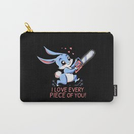 I Love Every Piece Of You Carry-All Pouch