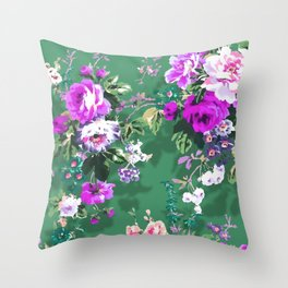 Bouquets with roses 5 Throw Pillow