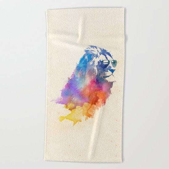 Sunny Leo   Beach Towel