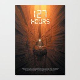 127 Hours Canvas Print