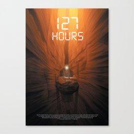 127 Hours Canvas Print