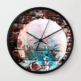 Modern Volleyball Art Wall Clock