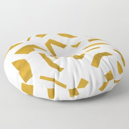 Cut out - Yellow Floor Pillow