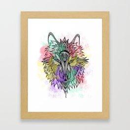 The Lone Wolf Framed Art Print