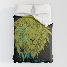 It's Like a Jungle Sometimes... Comforters
