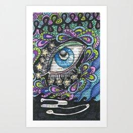 Twenty-one. Art Print
